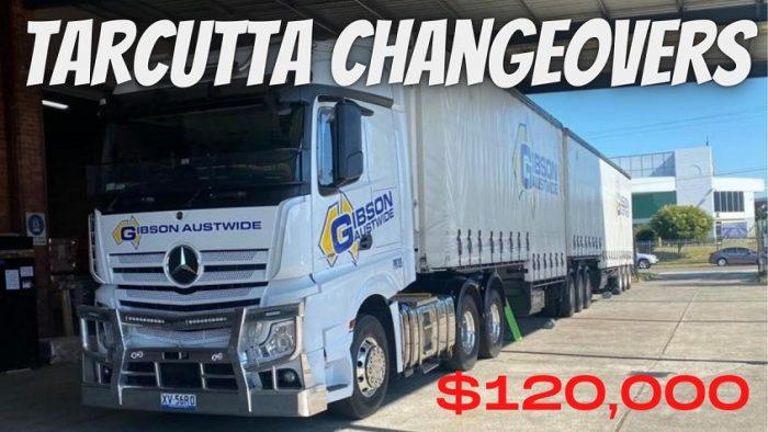 Gibson Austwide   Melbourne MC Change Over Driver – $120,000 P/Y
